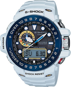 Casio Часы Casio GWN-1000E-8A. Коллекция G-Shock casio g shock gulfmaster tough mvt multi band 6 gwn 1000e 8ajf men s japan model