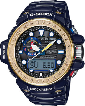 Casio Часы Casio GWN-1000F-2A. Коллекция G-Shock часы casio g shock gwn 1000f 2a true black gold