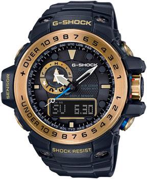 Casio Часы Casio GWN-1000GB-1A. Коллекция G-Shock часы casio g shock gulfmaster gwn 1000b 1b black navy