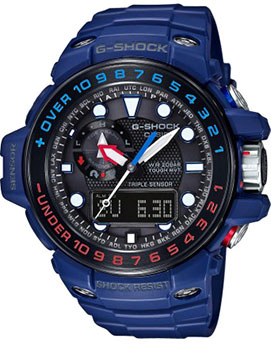 Casio Часы Casio GWN-1000H-2A. Коллекция G-Shock casio gwn q1000nv 2a