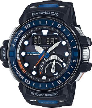 Casio Часы Casio GWN-Q1000-1A. Коллекция G-Shock часы casio g shock gulfmaster gwn 1000b 1b black navy