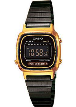Casio Часы Casio LA670WEGB-1B. Коллекция Digital часы casio casio ca077dmyug49