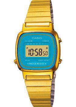 Casio Часы Casio LA670WGA-2D. Коллекция Digital цена и фото