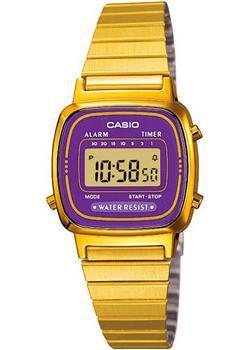 Casio Часы Casio LA670WGA-6D. Коллекция Digital цена и фото