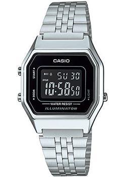 Casio Часы Casio LA680WA-1B. Коллекция Digital casio часы casio sgw 600h 1b коллекция digital