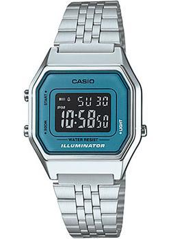 Casio Часы Casio LA680WA-2B. Коллекция Digital casio часы casio la680wa 7 коллекция digital