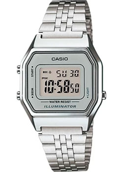 Casio Часы Casio LA680WA-7. Коллекция Digital часы casio casio ca077duhsv53