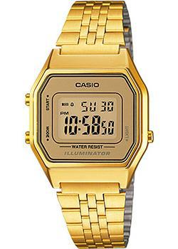 Casio Часы Casio LA680WGA-9B. Коллекция Digital casio ltp v001g 9b