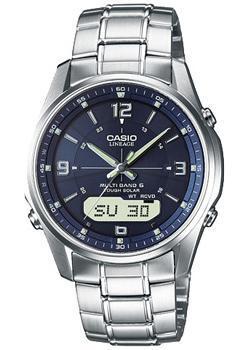 Casio Часы Casio LCW-M100DSE-2A. Коллекция Wave Ceptor casio lcw m100dse 1a casio