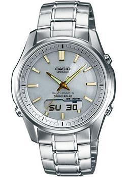 Casio Часы Casio LCW-M100DSE-7A2. Коллекция Wave Ceptor casio wave ceptor wva m650d 2a