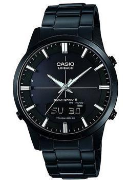 Casio Часы Casio LCW-M170DB-1A. Коллекция Wave Ceptor casio wave ceptor wv 200e 2a