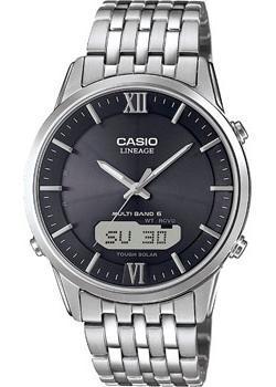 Casio Часы Casio LCW-M180D-1A. Коллекция Wave Ceptor casio wave ceptor wva 105hde 1a