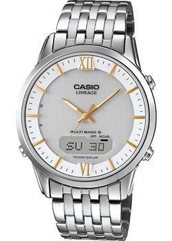 цены Casio Часы Casio LCW-M180D-7A. Коллекция Wave Ceptor