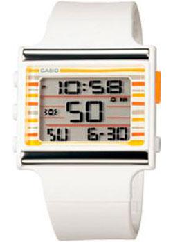 Casio Часы Casio LDF-12-7C. Коллекция Digital casio часы casio ldf 20 7a коллекция digital