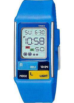 Casio Часы Casio LDF-50-2D. Коллекция Digital casio часы casio ldf 20 7a коллекция digital