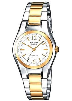 Casio Часы Casio LTP-1280PSG-7A. Коллекция Analog casio ltp 1280psg 7a casio