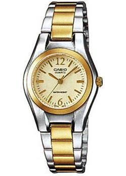 Casio Часы Casio LTP-1280PSG-9A. Коллекция Analog часы casio collection ltp 1280psg 9a grey gold