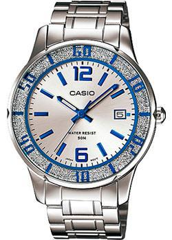 Casio Часы Casio LTP-1359D-7A. Коллекция Analog casio she 3050d 7a