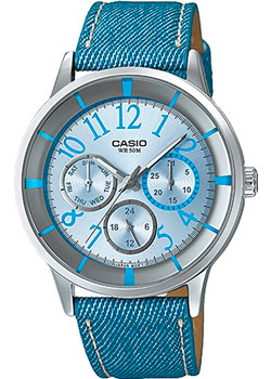 Casio Часы Casio LTP-2084LB-2B. Коллекция Analog casio prw 3000 2b casio