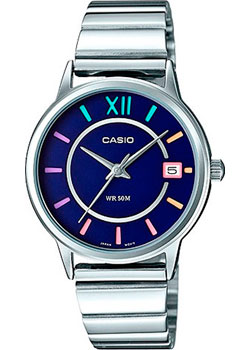Casio Часы Casio LTP-E134D-2B. Коллекция Analog casio prw 3000 2b casio