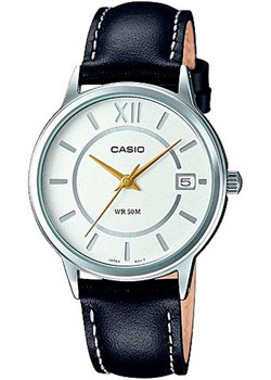Casio Часы Casio LTP-E134L-1B. Коллекция Analog 30m waterproof stainless steel band analog digital led quartz wrist watch silver 1 x 2035