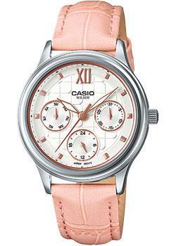 Casio Часы Casio LTP-E306L-4A. Коллекция Analog casio часы casio ltp 1358l 4a коллекция analog