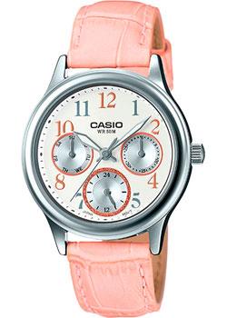 Casio Часы Casio LTP-E306L-4B. Коллекция Analog цена