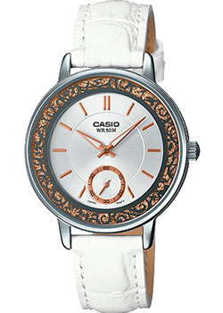 Casio Часы Casio LTP-E408L-7A. Коллекция Analog 30m waterproof stainless steel band analog digital led quartz wrist watch silver 1 x 2035