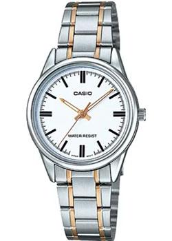 Casio Часы Casio LTP-V005SG-7A. Коллекция Analog net panel storage box