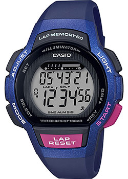Часы Casio Digital LWS-1000H-2AVEF