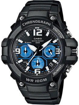 Casio Часы Casio MCW-100H-1A2. Коллекция Analog электронные часы casio collection mcw 200h 9a