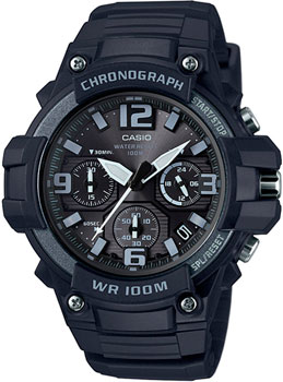 Casio Часы Casio MCW-100H-1A3. Коллекция Analog электронные часы casio collection mcw 200h 9a