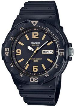 Casio Часы Casio MRW-200H-1B3. Коллекция Analog кварцевые часы casio collection mrw 200h 2b3 navy