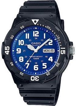 Casio Часы Casio MRW-200H-2B2. Коллекция Analog кварцевые часы casio collection mrw 200h 2b3 navy