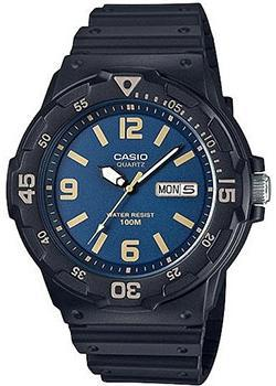 Casio Часы Casio MRW-200H-2B3. Коллекция Analog кварцевые часы casio collection mrw 200h 2b3 navy