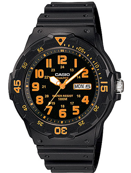 Casio Часы Casio MRW-200H-4B. Коллекция Analog кварцевые часы casio collection mrw 200h 2b3 navy