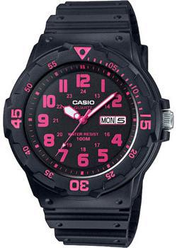Casio Часы Casio MRW-200H-4C. Коллекция Analog casio watch fashion medium student watch mrw 200h 1b mrw 200h 1b2 mrw 200h 1e mrw 200h 2b mrw 200h 2b2 mrw 200h 3b mrw 200h 4b