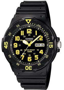 Casio Часы Casio MRW-200H-9B. Коллекция Analog кварцевые часы casio collection mrw 200h 2b3 navy