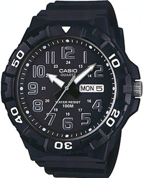 Casio Часы Casio MRW-210H-1A. Коллекция Analog casio mrw 210h 1a