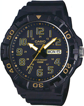 Casio Часы Casio MRW-210H-1A2. Коллекция Analog casio mrw 210h 1a casio