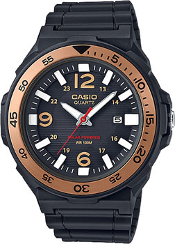 Casio Часы Casio MRW-S310H-9B. Коллекция Analog кварцевые часы casio collection mrw 200h 2b3 navy