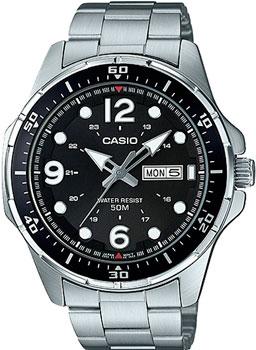Casio Часы Casio MTD-100D-1A. Коллекция Analog цена
