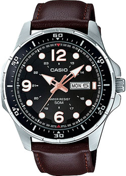 Casio Часы Casio MTD-100L-5A. Коллекция Analog электронные часы casio collection ca 506c 5a