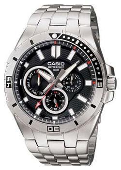 Casio Часы Casio MTD-1060D-1A. Коллекция Analog цена