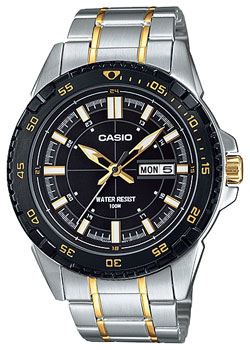 Casio Часы Casio MTD-1078SG-1A. Коллекция Analog часы casio collection mtd 1053d 1a silver