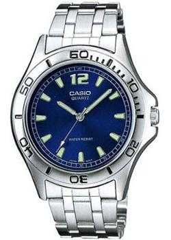 Casio Часы Casio MTP-1258PD-2A. Коллекция Analog casio casio mtp 1258pd 2a