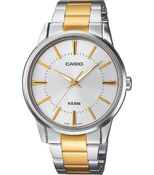 Casio Часы Casio MTP-1303SG-7A. Коллекция Analog casio часы casio mtp 1170g 7a коллекция analog