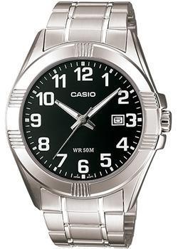 Casio Часы Casio MTP-1308D-1B. Коллекция Analog цена