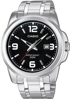 Casio Часы Casio MTP-1314PD-1A. Коллекция Analog часы casio collection mtp 1314pd 1a silver black