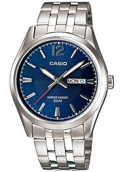 Casio Часы Casio MTP-1335D-2A. Коллекция Analog casio mtf 118g 2a